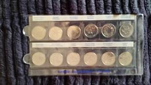 25 cents set 1992 or 1999 or 2000 and olympic Gatineau Ottawa / Gatineau Area image 3