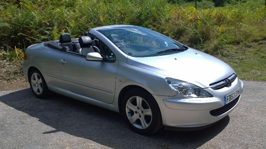 peugeot 307 cc convertible in poole dorset gumtree. Black Bedroom Furniture Sets. Home Design Ideas