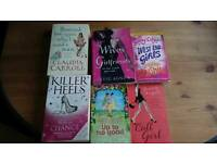 Books Fiction chick flicks vampie thriller steven king ect