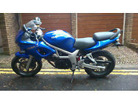 Suzuki SV 650 SY Spares or Repair
