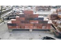Various reclaimed bricks
