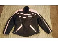 Ladies Tuzo Motorbike Jacket Size 4 XL/Size 24
