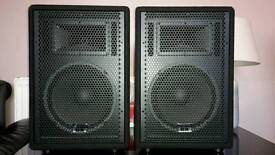 **REDUCED** Studiomaster GX10A Active Speakers (Pair)