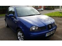 SEAT ROSA, 12MONTHS MOT, SERVICE HISTORY, CHEAP ON FUEL TAX, CD ALLOY TIDY AND HEATING £555ONO