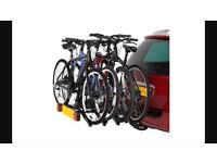 Towbar cycle carrier
