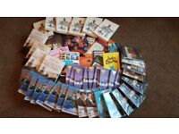 JOB LOT OF BOOKS AND DVD'S