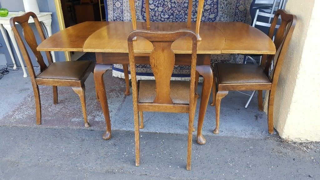 queen anne dining table american drew queen anne dining table chairs in great condition in bearsden glasgow gumtree bearsden