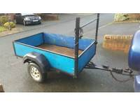 Car trailer (quad, garden, firewood)