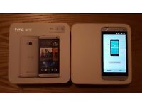 HTC One M7 801n | 32GB Silver (Unlocked) | GSM Smartphone with Beats Audio | EXCELLENT CONDITION UK
