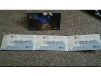 3 x Edinburgh Tattoo tickets Fri 12th Aug 9pm face value