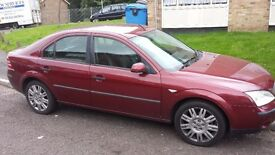 Ford mondeo 1.8 lx with added extras