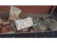 Bricks/Rubble/Hardcore - free to collect /possible deliver