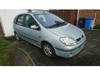 RENAULT SCENIC DIESEL WITH 12 MONTH MOT