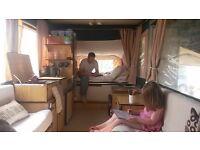 Conway Tardis HARD TOP wind up camper (folding camper) - 6 berth - fridge, hob, electric, storage