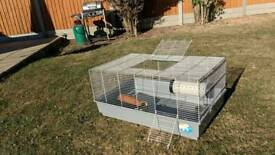 Ferplast rodent cage with accessories