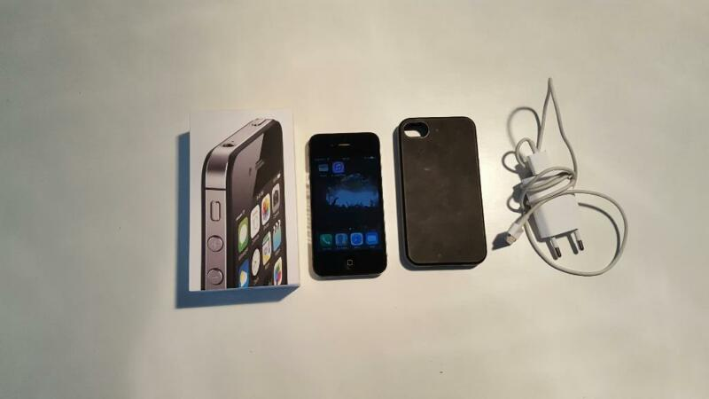 iphone 4s black 8gb in hessen langen hessen apple. Black Bedroom Furniture Sets. Home Design Ideas