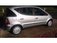 Mercedes A Class A140 Low Mileage in good condition Many extras as standard.