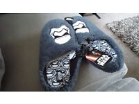Star Wars Slippers Size 8-9 - New Never Worn - With Tags
