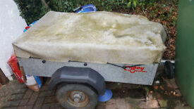 'Caddy' 4x3 Galvanised Car Trailer - Great condition