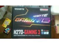 Gigabyte H270 motherboard new