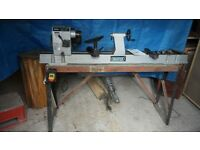 Variable speed Woodturning Lathe; Draper