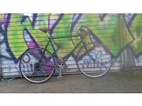 Vintage Dawes road bike, racing green, 531 Reynolds tubing