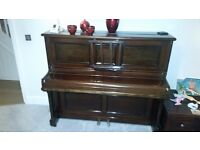 Beautiful Upright Piano: Berr - WH Barnes Ltd
