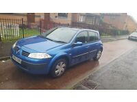 Renault megane 69000 miles mot and taxed.