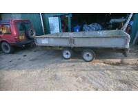 Ifor William's lm126 3.5t twin axle trailer