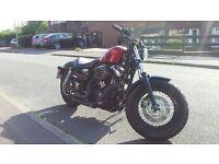 Harley Davidson 48 Sportster custom, Low miles 2099