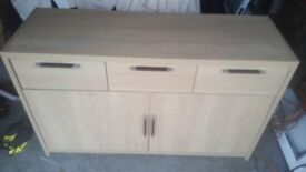 Light oak effect sideboard 4ft in length or TV stand