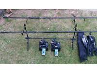 Mini carp setup