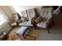 Ercol Sofa & chair set Need gone by 25th Jan (wednesday) for £80 or best offer, collection only.
