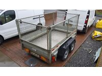 Indespension SDH GT2600 braked twin axle trailer 8'×5'