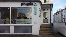 Two large rooms to let in a well established multidisciplinary clinic in central Eastbourne