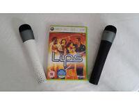 XBOX 360 Lips With 2 Microphones - Karaoke