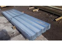 BOX PROFILE GALVANISED ROOFING SHEETS 10ft X 3ft (APPROX) HEAVY DUTY FREE DELIVERY MOB: 07860146352
