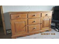 sideboard cabinet pine
