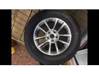 4 x alloys and tyres. Jeep Grand Cherokee