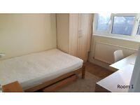 2 Double Rooms £550-£600 Pcm