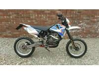 Motorbike ccm xtr 250 supermoto