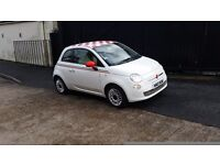 2010 FIAT 500 POP 1.2 PETROL STOP START WHITE 32,000 MILES FULL SERVICE HISTORY 12 MONTHS MOT 2 KEYS