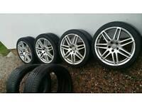 "19"" Genuine Audi le mans Sline alloys. A4,a6,a8. 5x112. Vw,seat,skoda"