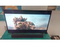 50 inch Techwood 4K Led Smart TV with Philips Sounbar.