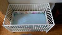 White Baby Crib for SALE!