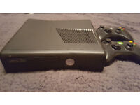 Microsoft Xbox 360 S with Kinect 250 GB Black Console + 17 Games
