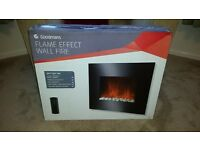 Goodmans Electric Flame Effect Wall Fire