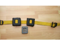 Scuba diving weights and belt