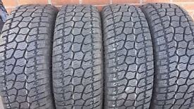 4 X ALL TERRAIN M+S TYRES 265/65R18 114H RADAR RENEGADE AT5 265 65 18 EXTRA LOAD