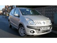 09 Nissan Pixo N-TEC SPEC 1.0 LOW miles 26K with 3MONTHS WARRANTY, £20 to tax per yr £2395 BARGAIN!!